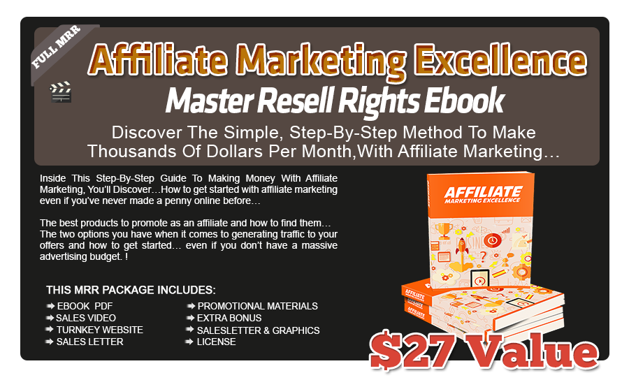 Affiliate Marketing Excellence. Ebook