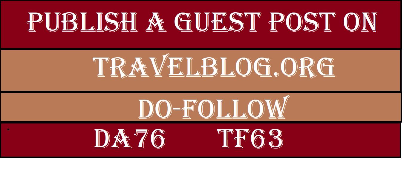 Provide you guest post on TravelBlog. org DA 75