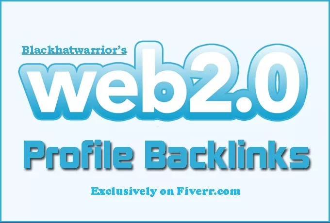 Create 150 Web 2, 0 Profile Backlinks On High Page Rank Sites