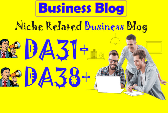 Do Guest Post On DA 31 pa 38 Business Blogs