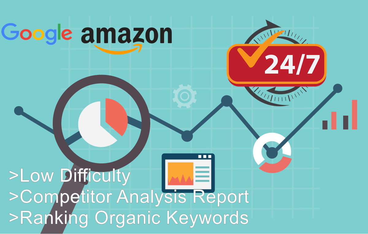 Organic SEO Keyword Research And Competitor Analysis