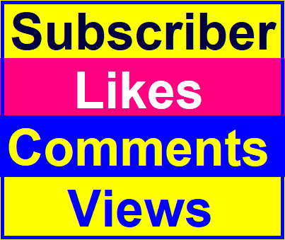 Manually Basic Likes,  Video Comments,  Views, Channel Promotion Instant Start