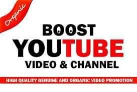 YouTube Video promotion social media marketing