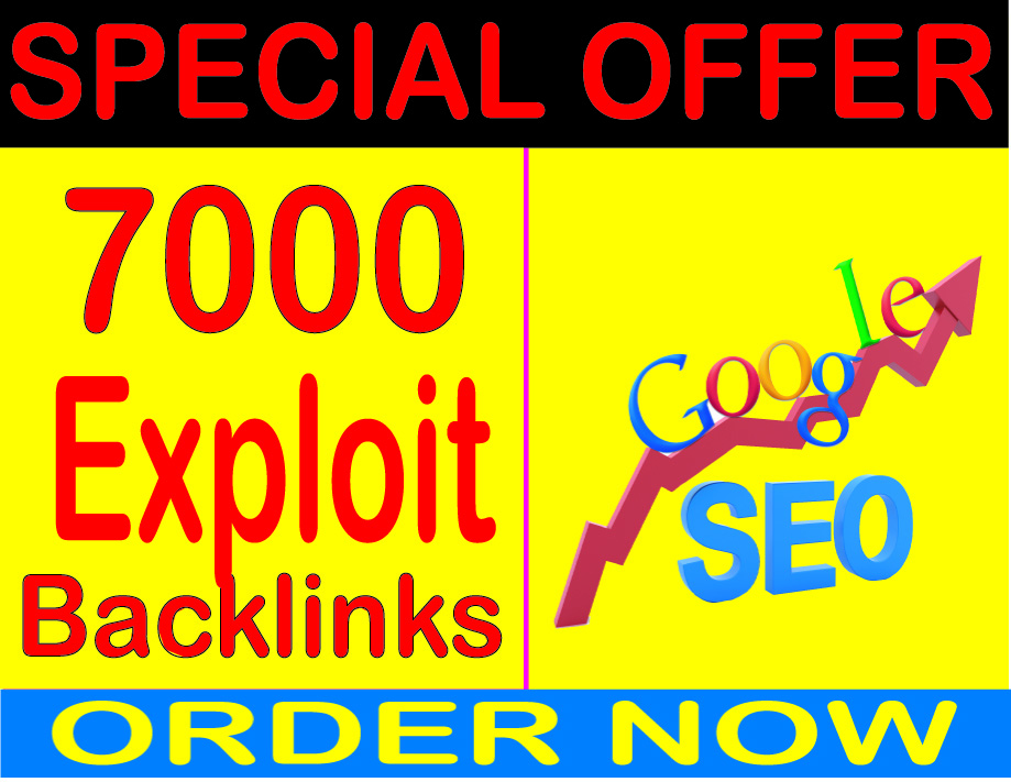 Top SEO-7000 High Quality Extra Exploit comment Backlink