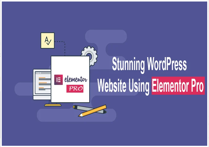 Create landing page elementor pro or wordpress website