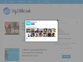 Sponsored Post on BigLittleGeek. com Alexa 65K