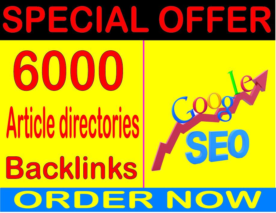 Best SEO Sell-2020-I will do 6000 Article directories backlinks PR9 Safe SEO High Pr Backlinks