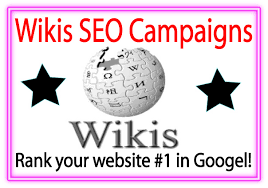 SPECIAL OFFER 30+ HQ Wiki backlinks MANUAL WHITEHAT WORK