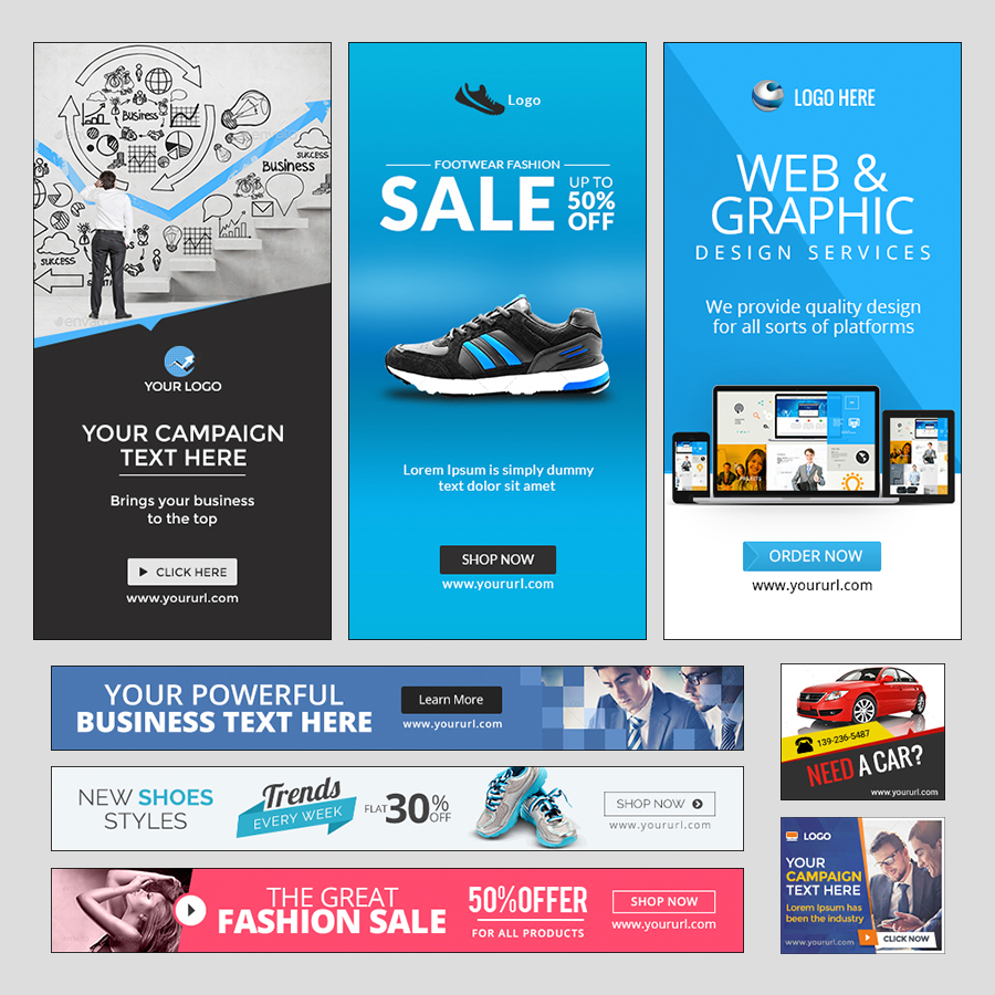 HTML 5 Animated Ad Banner