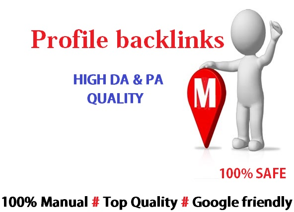 Give You 75 High Quality Profile Backlinks