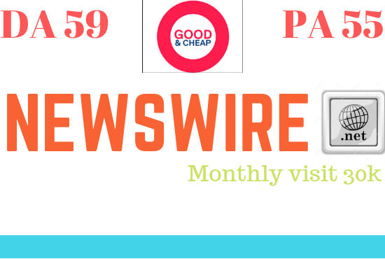 Publish Guest Post on NewsWire &ndash NewsWire. Net&ndash DA 66