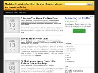 Technology / marketing Blog Sponsored Blog Review