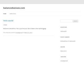 balancedsenses.com
