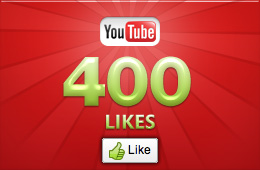 give you 400 Guaranteed YouTube Likes 6$ [Real human]for 3 orders offer bonus