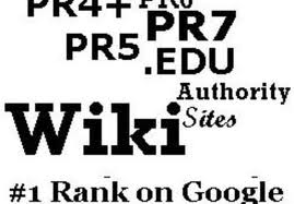 manually create Dofollow Backlinks 2xpr7, 6xpr6, 15xpr5, 20xpr4 on actual page