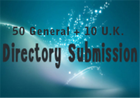 Organic Link Building From 50 General Directory Submission + 10 Uk Directory Submission Which Helps To Get High Ranking In Google SERP