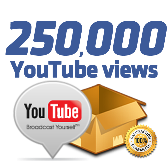 I will add Fast 250K Youtube Views