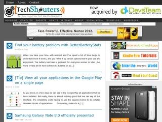 TechShouters. Com Sponsored Blog Review