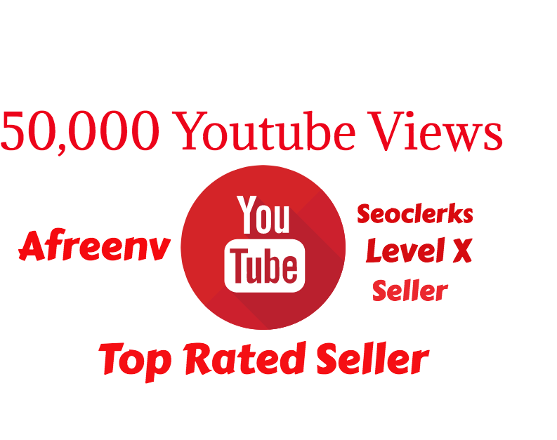 add Good Retention 50,000 Youtube Views