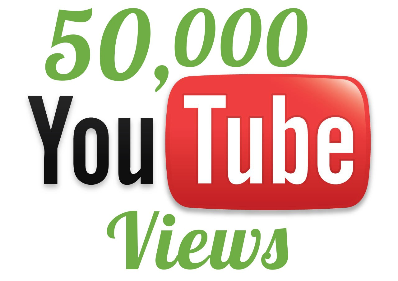 add Extra Fast 50,000 Youtube Views within 7 days