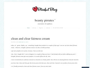 beautypirrates Sponsored Blog Review