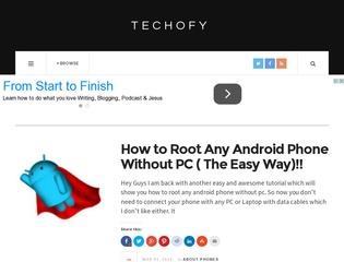 Techofy. com