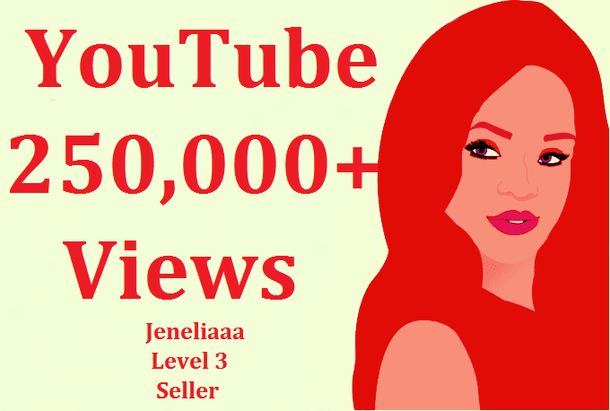 I will add 250,000 Safe YouTube Views + Splitable