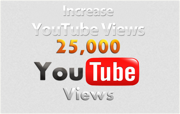 give you guaranteed  25,000 youtube views & 50 likes to your youtube video