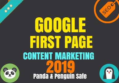 Guaranteed Google 1st Page - With Content Marketing - Monthly Package