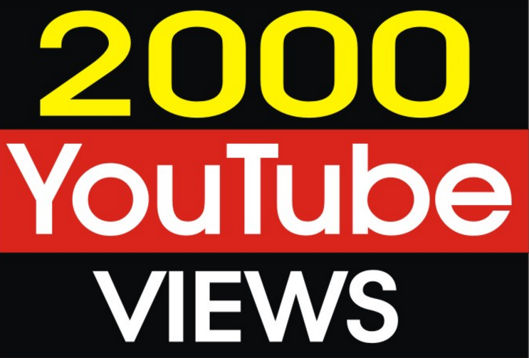 i will add 2000 to 2500 Youtube views or 600+ INSTAGR... for $1