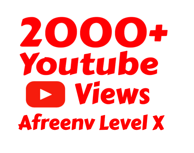 i will add 2000+  Super Quality Youtube view