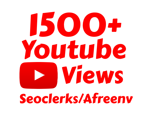 Get 1500+ High Quality Views instant Start