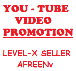 HIGH QUALITY YOUTUBE VIDEO PROMOTION 1k + 100 THUMBS-UP FREE)