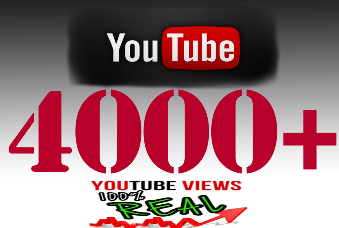i will add 3000 To 3500+ HR Youtube views
