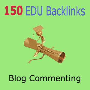 create 150 EDU Blog Commenting Backlinks + 1000 High PR backlinks to your website and PING them all
