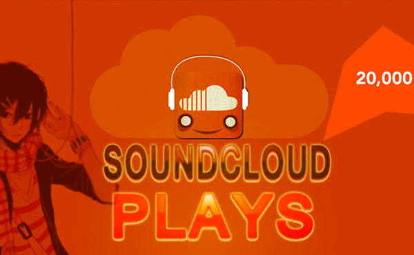 get you 35000 Soundcloud plays To Your SoundCloud Track In 24 Hours Guaranteed ...!!!!