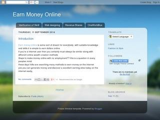Earn Money Sponsored Blog Review