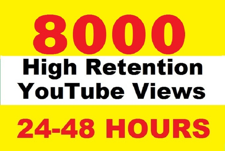 Give 8000+ FAST YOUTUBE and 30 Likes In less then 48 - 72 Hou
