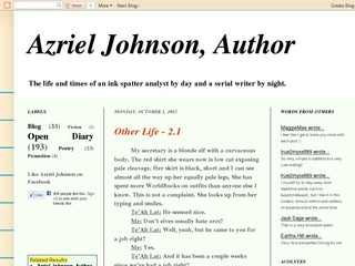 post on Azriel Johnson, Author