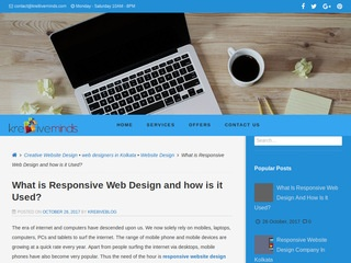 What is Responsive Web Design and how is it Used Sponsored Blog Review