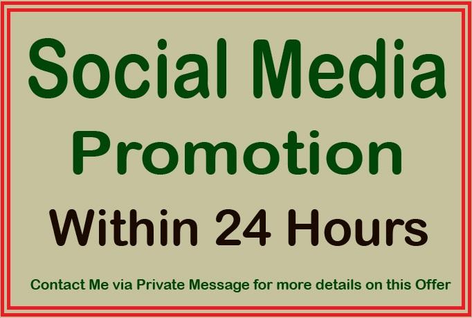 We Start Your Social Media Promotion For Profile
