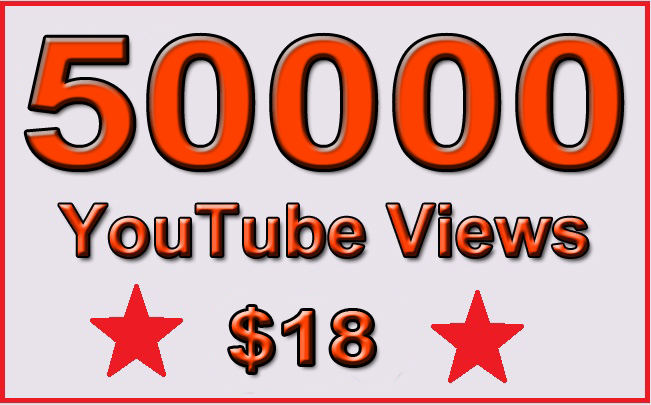50000 Non Drop YouTube Views