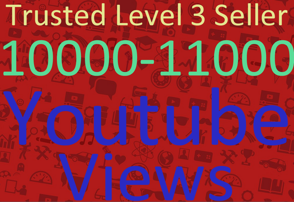 give you guaranteed 10000 safe youtube boosting to your video