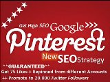 Pinterest Your Website To Blast SEO Google From Many Accounts And Promote To 50000 Twitter Followers