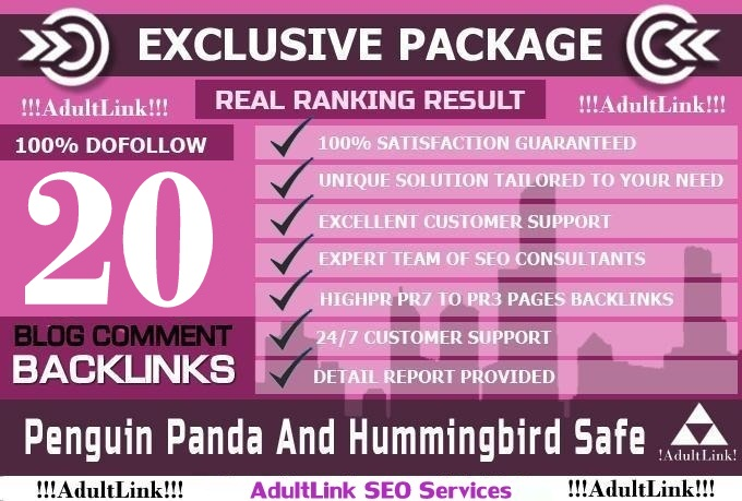 I Will 20 SEO Blog Commenting Backlinks pr3 to pr7