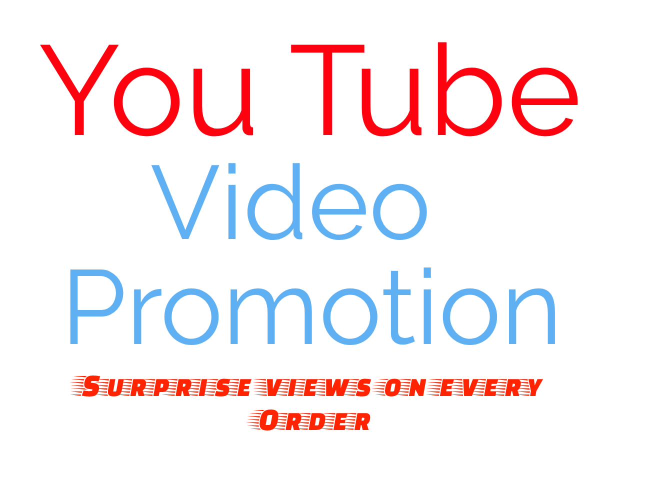 Will add 2,000+ High Quality YouTube PROMOTION