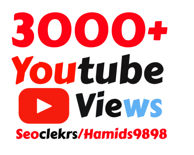 I will add Slow 3000-4000+ High Quality YouTube views