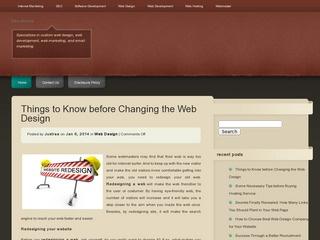 Ethix Webmaster Site