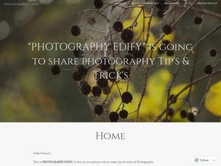 Photography Edify Sponsored Blog Review