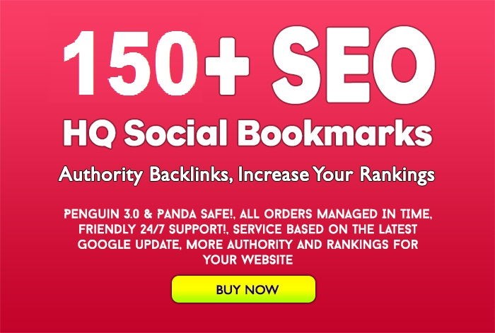 Create Manually 150 Social Media Backlinks in Google High Page Rank Sites